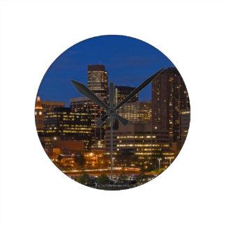 Denver Cityscape Clocks