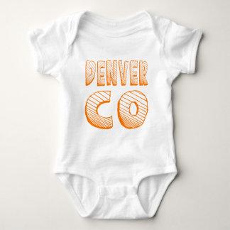 Denver CO Baby Bodysuit