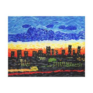 Denver,Co skyline Canvas Print
