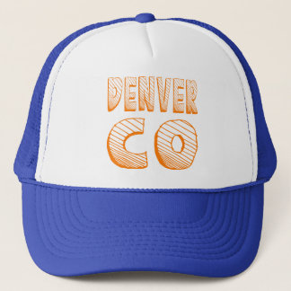 Denver CO Trucker Hat