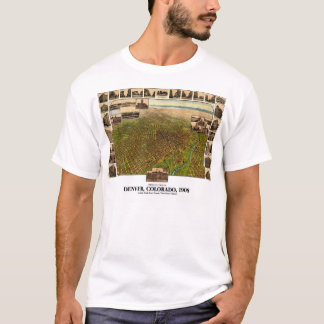 Denver, Colorado - 1908 T-Shirt