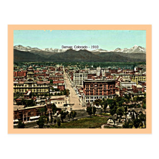 Denver, Colorado - 1910 Postcard