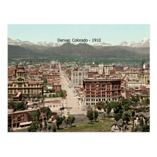 Denver, Colorado - 1910 Postcard