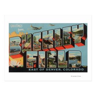 Denver, Colorado - Buckley Field Postcard