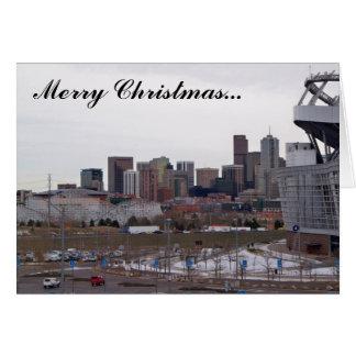 Denver, Colorado Christmas Card