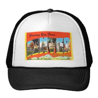 Denver Colorado CO Old Vintage Travel Souvenir Trucker Hat