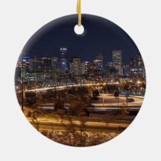 Denver Colorado Scenic Christmas Ornament