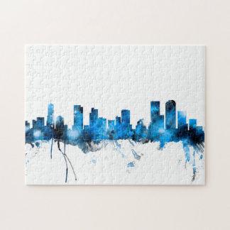Denver Colorado Skyline Jigsaw Puzzle