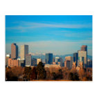 Denver Colorado Skyline Postcard