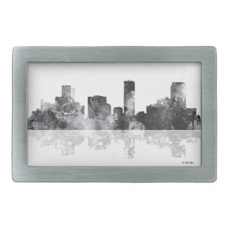 DENVER, COLORADO SKYLINE RECTANGULAR BELT BUCKLES