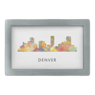 DENVER, COLORADO SKYLINE WB1 - RECTANGULAR BELT BUCKLE