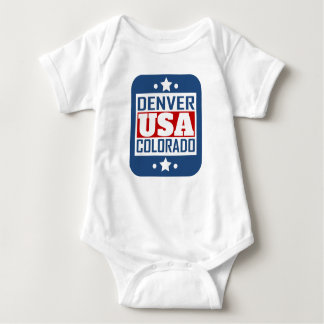 Denver Colorado USA Baby Bodysuit