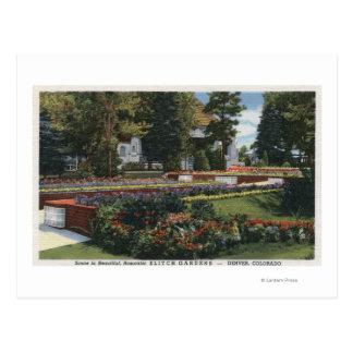 Denver, Colorado - View of Elitch Postcard