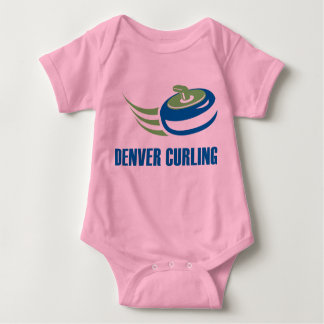 Denver Curling Baby Wear Baby Bodysuit
