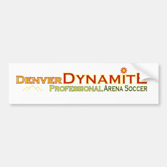 Denver Dynamite Bumper Sticker