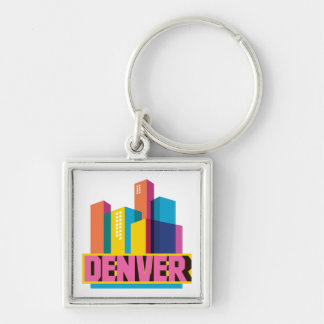 Denver In Design Keychain