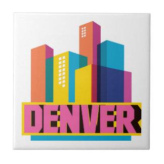 Denver In Design Tile