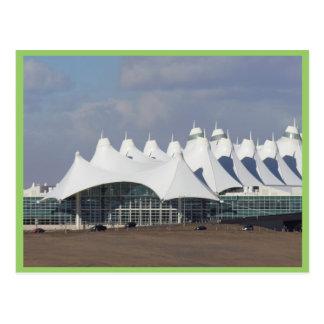 Denver International Airport Main Terminal Buildin Postcard
