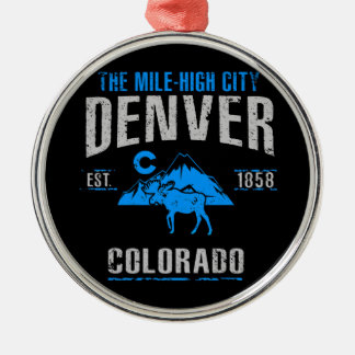 Denver Metal Ornament