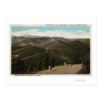 Denver Mountain Parks, CO Postcard