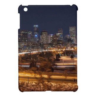 Denver Night Skyline iPad Mini Cover