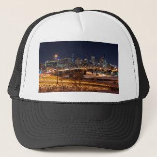 Denver Night Skyline Trucker Hat