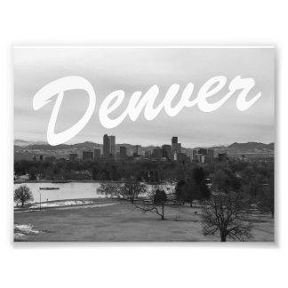 Denver Photo Print