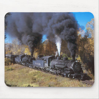 Denver & Rio Grande steam railroad mousemat Mouse Pad