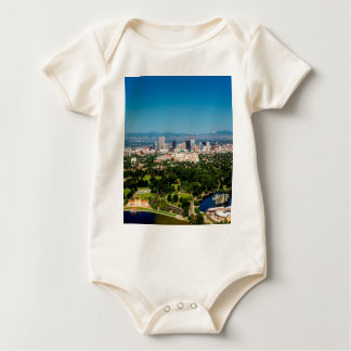 Denver Skyline Baby Bodysuit