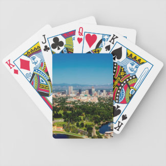 Denver Skyline Bicycle Playing Cards