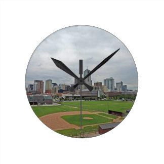 Denver Skyline Clock