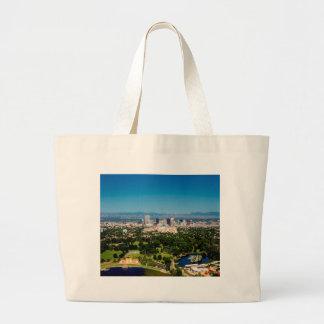 Denver Skyline Large Tote Bag