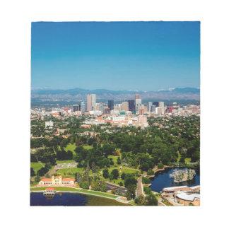 Denver Skyline Notepad