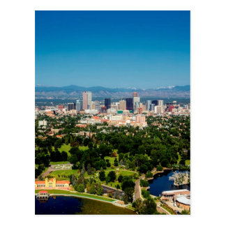 Denver Skyline Postcard