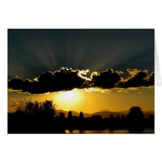 Denver Sunset Card