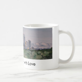 DenverSkyLine, From Denver with Love Coffee Mug