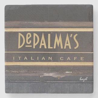 DePalma's, Athens, Georgia. Marble Stone Coaster. Stone Coaster