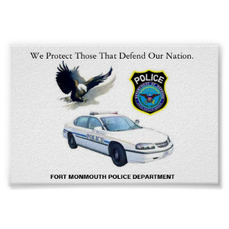 Department of Defense Police Poster