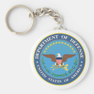 Department Of Defense - USA Keychain