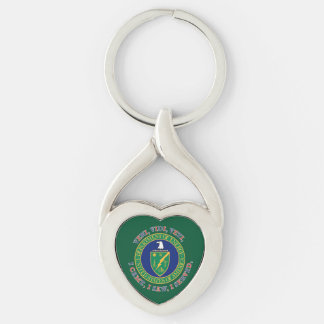 Department of Energy DOE VVV Shield Keychain