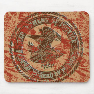 Department of Justice (blood) - Mousepad