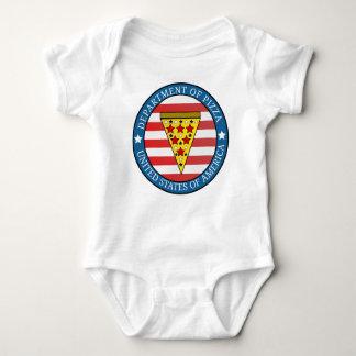 Department of Pizza Baby Bodysuit