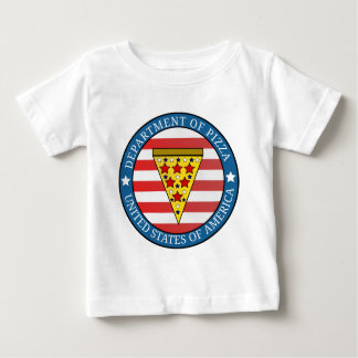 Department of Pizza Baby T-Shirt