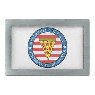 Department of Pizza Belt Buckle