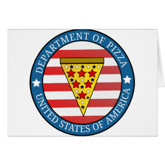 Department of Pizza Card