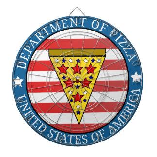 Department of Pizza Dartboard