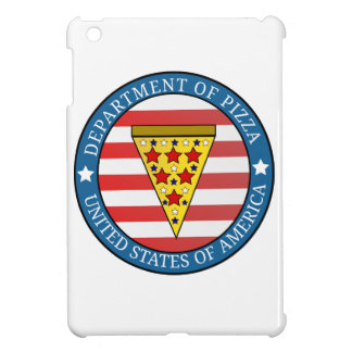 Department of Pizza iPad Mini Cover