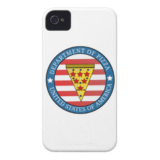 Department of Pizza iPhone 4 Case-Mate Case