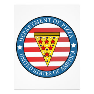 Department of Pizza Letterhead