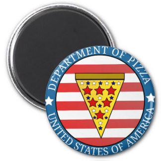 Department of Pizza Magnet